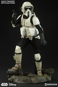 Sideshow Collectibles Star Wars Scout Trooper Sixth Scale Figure 100103 - 2015