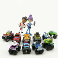 Hot 12Pcs Blaze And The Monster Machines Kids Toy Figure Or CupCake Toppers