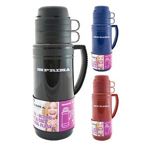 Mondial Vacuum Flask Insulated Jug Tea Coffee Black Red Blue 0.5L 1L 1.8 Litre