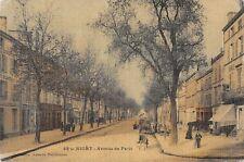 CPA 79 NIORT AVENUE DE PARIS (cpa toilée