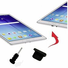 4 X Staub Schutz Stöpsel für blackberry playbook Tablet MICRO USB AUX  schwarz