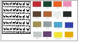 Aries Zodiac Nail Stickers Several colours to choose from