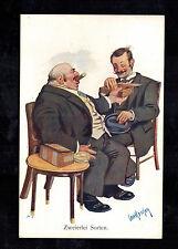 1938 Vienna Germany Postcard Cover Eternal Jew Movie Cancel Judaica Men Cigars