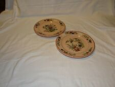 """Buffalo Pottery Pair of plates """"Rouge Ware"""" dates 1930"""