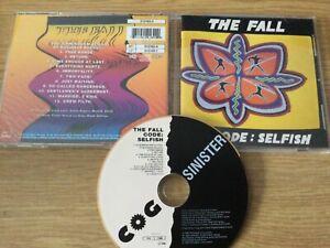 Cd album : The Fall – Code: Selfish