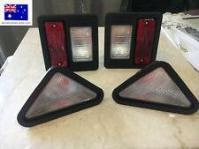 BOBCAT SKID TRACK HEADLIGHTS TAIL LIGHTS REAR LIGHT SET 6670284 6674400 6674401