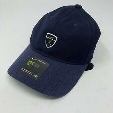 Nike Dri-FIT Heritage86 Adjustable Golf Hat 932382-451 Navy Black  BNWT