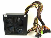 550W 550 Watt 120mm Fan ATX SATA PCI-E Power Supply for Intel AMD PC Unit 500w