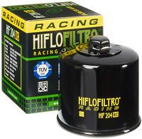 HIFLOFILTRO RACE OIL FILTER (BLACK) PART# HF204RC NEW