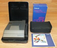 Genuine Vintage Polaroid Spectra Film Camera With Close Up Lens in Box! **READ**
