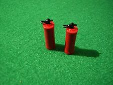 Pair of Fire Extinguishers in 1/24th Scale. Model Boat Fittings.