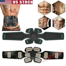 Muscle Toner Machine Abs Stimulator Toning Belt Fat Burner Abdominal Exerciser