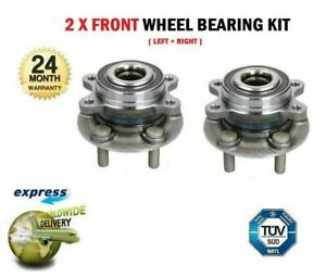 2x Front WHEEL BEARINGS for FORD GALAXY CK 2.0 TDCi 2015-2018