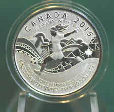 2015 CANADA $20 for $20 FIFA Women's soccer coin  - #16 in series: with folder