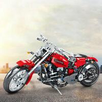 782 pcs Building Blocks Set Toys Bricks Motorcycle Off-road Vehicle Model Gift
