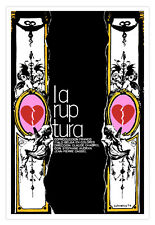 "Cuban movie Poster 4 film""The RUPTURE""Broken hearts art.Belgian-italian cinema"