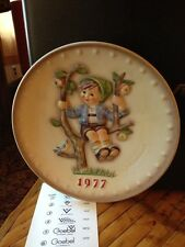 M J Hummel Plate 1977 7th Annual Plate Hum 270 Excellent
