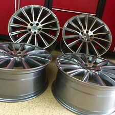 MERCEDES 22 INCH S63 MULTISPOKE RIMS NEW SET 4 FITS EXCLUSIVE FOR S550 S600 AMG