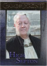 GAME OF THRONES SEASON 5 GOLD PARALLEL INSERT #77 HIGH SEPTON 101/150