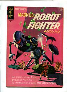 MAGNUS, ROBOT FIGHTER #14 (5.0) THE MONSTER RABS!! 1966