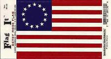 Betsy Ross Flag - Vinyl Decal Sticker 3.5''x 5''