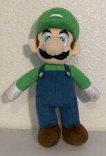 "9"" Super Mario Bros Plush Luigi Soft Toy Nintendo Character Stuffed Animal"
