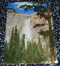 Takakkaw Falls Yoho National Park B.C. Postcard Canada