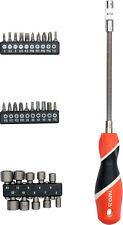 Schraubendreher flexibel biegsam Bitverlängerung 31 tlg Set