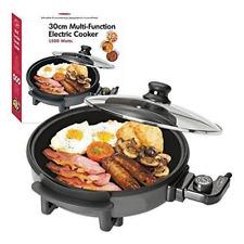 1500W Quest Watt Multi Cooker with Medium 30cm Diameter Electric Frying Pan 15KW