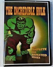 The Incredible Hulk Complete 1966 Cartoon Series 2 DVD Set