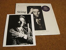 Sting/ Nothing Like The Sun/ A&M/ 1987/ Canada/ Promo Photo/ 2 LPs/ Shrink