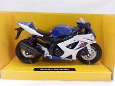 NEW-RAY MODELLINO MOTO SUZUKI GSX-R1000 SCALA 1.12,COLORE BLU/BIANCO,DIE CAST
