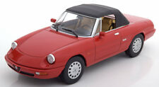 KK SCALE MODELS 1990 Alfa Romeo Spider 4 w/removable Softtop Red 1/18 LE 750