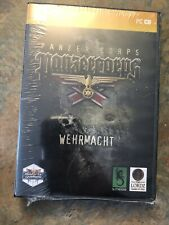 Panzer Corps Wehrmacht Brand New Sealed - PC - DVD - 2011 - COMPLETE - New