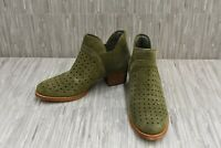 Earth Keren 602559WSDE Ankle Boots, Women's Size 7.5 B, Olive Suede NEW