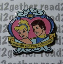 Disney Pin Ds Countdown to the Millennium #56 Cinderella and Prince Charming