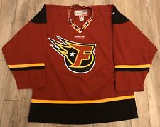 CCM INDIANAPOLIS INDY FUEL AUTHENTIC HOCKEY JERSEY 52 ECHL
