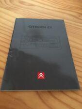 "Citroën ZX "" Audio 2022 RDS "" autoradio notice utilisation mode d' emploi"