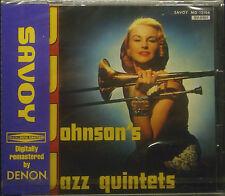 CD J. J. johnson's Jazz Quintets, jp-import, NUEVO - EMBALAJE ORIGINAL