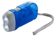 Linterna dinamo  bateria recargable sin pilas coche bolsillo