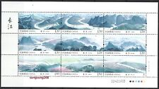 CHINA  2014-20 Mini S/S  Yangtze River Place Stamps 長江