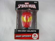 MARVEL SPIDER-MAN IRON SPIDER DIE-CAST HELMET  *NEW*