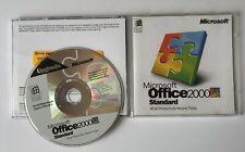 Microsoft Office 2000 software de actualización estándar Vintage