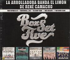 La Arrolladora Banda El Limon De Rene Camacho Box set Five 5CD