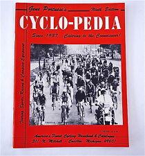 Catalog Cyclo-Pedia 9th 1968 Gene Portuesi's Cyclopedia Vintage Bicycle NOS