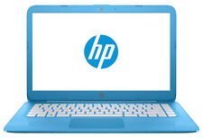 "HP Stream 14-ax000na 14"" Laptop Aqua Blue"