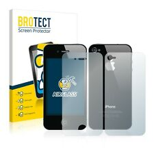 Screen Protector for Apple iPhone 4S (Front + Back) Tempered Glass Film