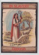 1989 re-Ed Bible Cards In Slavery #7 Zipporah Non-Sports Card 0q3