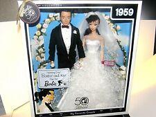 Barbie 50th anniversary Wedding Day 1959 collector box set !