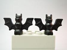 Lego 2 x Fledermaus schwarz 30103 Set 7783 4709 7074 3739